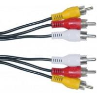 Cable 3RCA a 3RCA