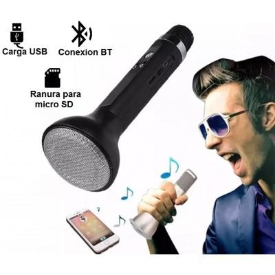 Microfono Parlante Inalambrico Karaoke..