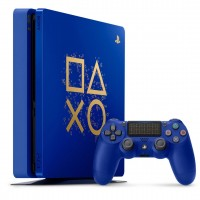 PLAYSTATION SONY PS4 SLIM 1000GB BLUE EDITION