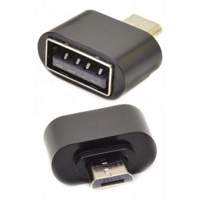 Adaptador Otg Micro Usb/Tipo C a Usb