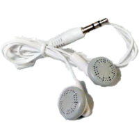 Auricular IN-EAR OEM Bolsita Blanco