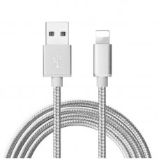 Cable USB a Iphone Mallado Reforzado