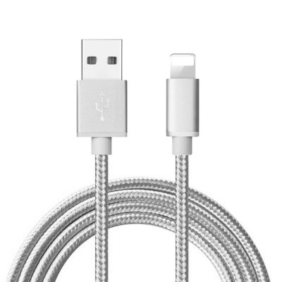 Cable USB a Iphone Mallado Reforzado..