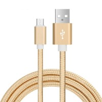 Cable USB a Micro USB Colores mallado
