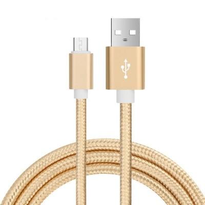Cable USB a Micro USB Colores mallado