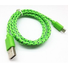 Cable USB a Micro USB Colores Tela Ditron