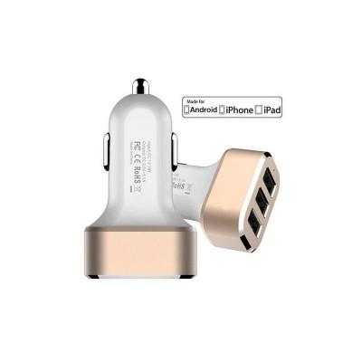 Cargador 12v a USB X3