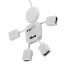 Hub USB Carga y Trans. de Datos 4 Puertos