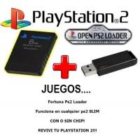 Juegos de PS2 en USB Memory Card + Pendrive De 32gb + Juegos Por Usb