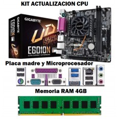 Kit Actualizacion Pc Amd Mother Micro 4Gb Memoria