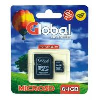 Memoria MICRO SD 64Gb Global