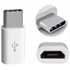 Adaptador Micro Usb Hembra A Usb Tipo C 3.1 Macho