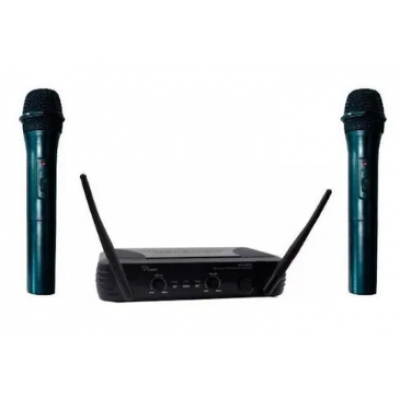 Microfono Inalambrico WR-368VR dinámico cardioide Karaoke Fiestas