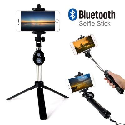 Palo Selfie Bluetooth 2 en 1 Tripode..