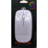 Mouse M3 LEDS Blanco Gaminng Wind Wheel