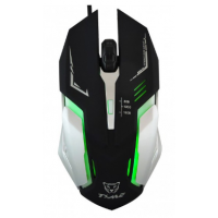 Mouse Gamer Luces Led Rgb Metalico 1600 dpi