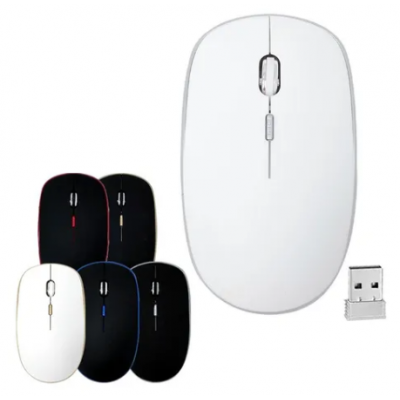 Mouse Optico Inalambrico Usb 2.4 Ghz Wireless Notebook Pc