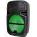 "PARLANTE KARAOKE Bluetooth 8"" Portátil Radio Usb Mp3 Leds 1500 WattS"