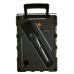 PARLANTE KARAOKE KTS-1090 A/B/C bluetooth de 8 pulgadas con agarre y luz led