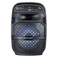 "PARLANTE KARAOKE Bluetooth 6.5"" Portátil Radio Usb Mp3 Leds 700 WattS"