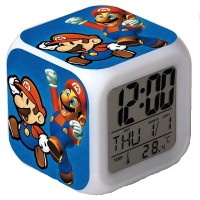 Reloj DIgital Despertador Alarma Luz Led Temperatura