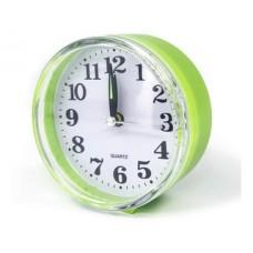 Reloj De Mesa Plastico Vintage Circular Deco