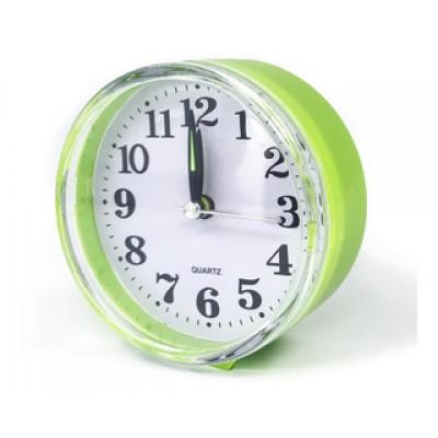 Reloj De Mesa Plastico Vintage Circular Deco..