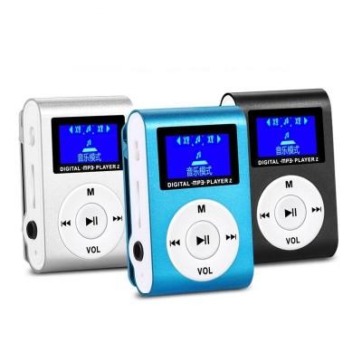MP3 Shuffle Pantalla Lcd Clip Lector Hasta 32gb..