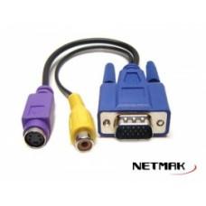 Cable VGA a TV