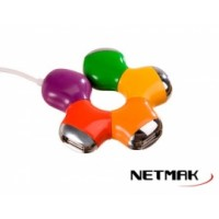 Hub USB 2.0 Multicolor