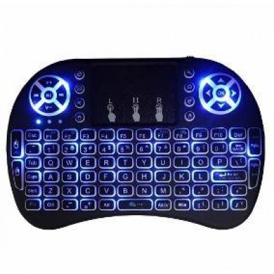 TECLADO MINI INALAMBRICO RETROILUMINADO TOUCHPAD..