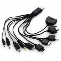 Cable Usb Cargador Datos Multiple