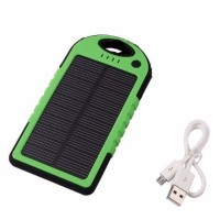 Power Bank 5000 Solar Cargador Portatil